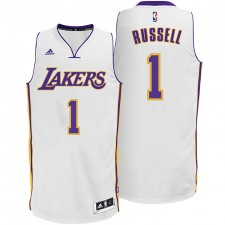 D'Angelo Russell Los Angeles Lakers &1 2014-15 New Swingman Alternative White Jersey