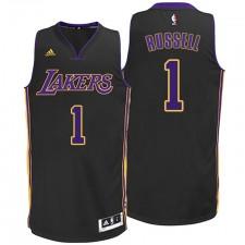 D'Angelo Russell Los Angeles Lakers &1 2014-15 New Swingman Alternative Black Jersey