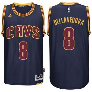 Cleveland Cavaliers #8 Matthew Dellavedova Nouveau Swingman Marine Maillot