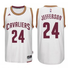 Cleveland Cavaliers &24 Richard Jefferson CAVS New Swingman Home White Jersey