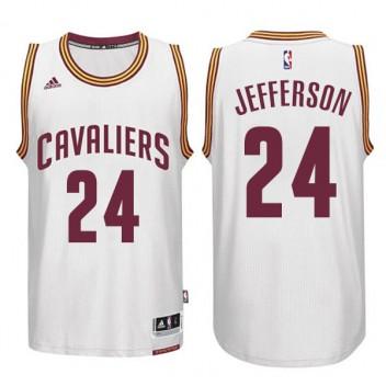Cleveland Cavaliers #24 Richard Jefferson CAVS Nouveau Swingman Accueil Blanc Maillot