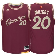 Timofey Mozgov Cleveland Cavaliers &20 Burgundy Red 2015 Christmas Day Swingman Jersey