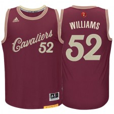 Cleveland Cavaliers &52 Mo Williams Burgundy Red 2015 Christmas Day Swingman Jersey
