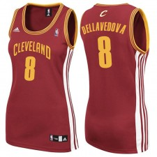 Womens Matthew Dellavedova Cleveland Cavaliers &8 Revolution 30 Swingman Wine Red Jersey