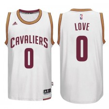 Cleveland Cavaliers &0 Kevin Love New Swingman White Jersey