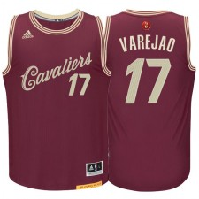 Anderson Varejao Cleveland Cavaliers &17 Burgundy Red 2015 Christmas Day Swingman Jersey