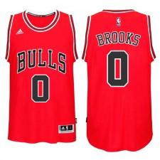 Chicago Bulls &0 Aaron Brooks New Swingman Red Jersey