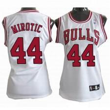 Women Chicago Bulls &44 Nikola Mirotic White Jersey