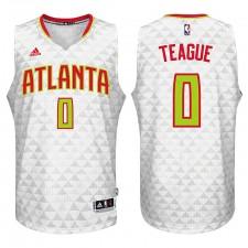 Atlanta Hawks &0 Jeff Teague 2015-16 Season New Swingman White Home Jersey