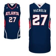 Atlanta Hawks &27 Zaza Pachulia Revolution 30 Swingman Road Jersey