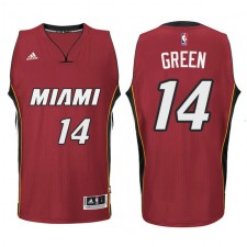 Gerald Green Miami Heat &14 New Swingman Red Jersey