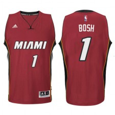 Miami Heat &1 Chris Bosh New Swingman Red Jersey