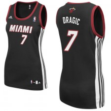 Miami Heat &7 Goran Dragic Women Black Jersey