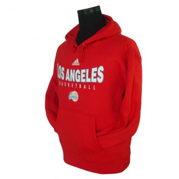 Los Angeles Clippers principal Logo synthétique Rouge Pullover Hoodie