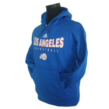Los Angeles Clippers principal Logo synthétique Bleu Pullover Hoodie