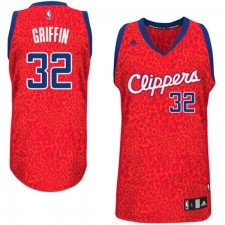 Los Angeles Clippers &32 Blake Griffin Crazy Light Leopard Swingman Jersey