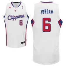 Los Angeles Clippers &6 Deandre Jordan Revolution 30 Swingman Home Jersey