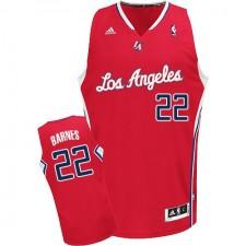 Los Angeles Clippers &22 Matt Barnes Revolution 30 Swingman Road Red Jersey