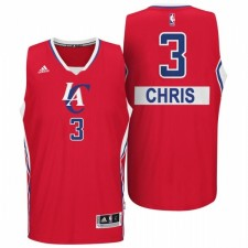 Los Angeles Clippers &3 Chris Paul 2014 Christmas Day Big Logo Swingman Red Jersey