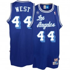 Los Angeles Lakers &44 Jerry West Royal Blue Soul Swingman Throwback Jersey