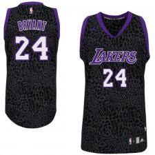 Los Angeles Lakers &24 Kobe Bryant Crazy Light Leopard Swingman Jersey