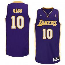 Steve Nash Los Angeles Lakers NBA Revolution Swingman Road Jersey