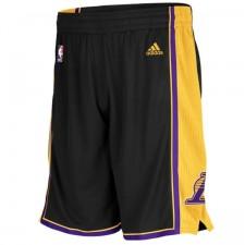Los Angeles Lakers Swingman Black Shorts