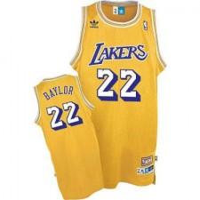 Los Angeles Lakers &22 Elgin Baylor Soul Swingman Gold Jersey