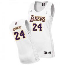 Los Angeles Lakers &24 Kobe Bryant Swingman Women's Alternate White Jersey