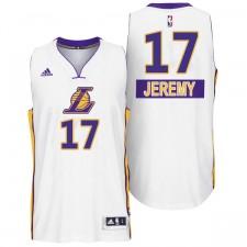 Los Angeles Lakers &17 Jeremy Lin 2014 Christmas Day Swingman Jersey