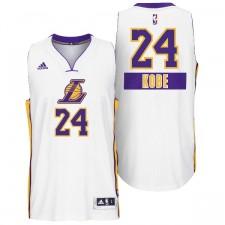 Los Angeles Lakers &24 Kobe Bryant 2014 Christmas Day Big Logo Swingman Jersey