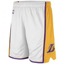 Los Angeles Lakers White Swingman Shorts