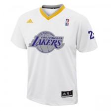 Los Angeles Lakers &24 Kobe Bryant 2013 Christmas Day Big Logo Swingman Jersey