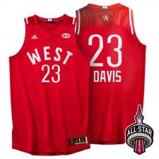 Toronto Conférence All-Star de l'Ouest 23 Anthony Davis 2016 maillot rouge
