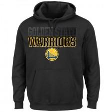 Sweat à capuche NBA pour Golden State Warriors - Noir