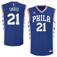 Philadelphia 76ers de hommes Joel Embiid adidas maillot Royal