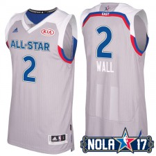 NBA 2017 New Orleans All-Star Eastern Conference assistants 2 John Wall gris Maillot