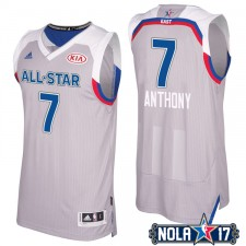 All-Star 2017 Knicks Carmelo Anthony 7 Conférence est gris Maillot