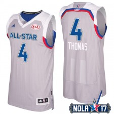 All-Star 2017 Celtics Isaiah Thomas & 4 Eastern Conference gris Maillot