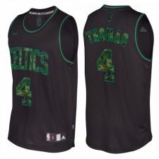 Isaiah Thomas Boston Celtics &4 noir Camo Fashio Swingman maillot