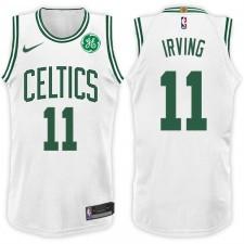 2017-18 saison Kyrie Irving Boston Celtics &11 Association maillot blanc
