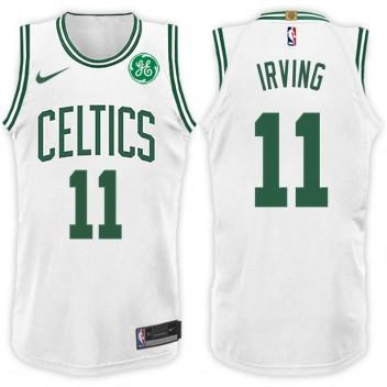 2017-18 saison Kyrie Irving Boston Celtics #11 Association maillot blanc