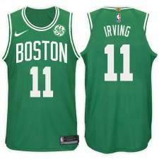 2017-18 saison Kyrie Irving Boston Celtics &11 Icône Vert maillots