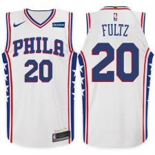 saison Markelle Fultz Philadelphia 76ers &20 Association maillot blanc