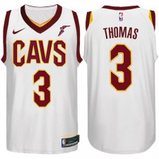 Isaïe Thomas Cleveland Cavaliers & 3 maillot blanc