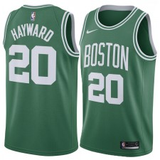 2017-18 Saison Gordon Hayward Boston Celtics &20 Icône Vert maillots
