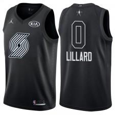 All-Star men's blazers Damian Lillard &0 maillot noir