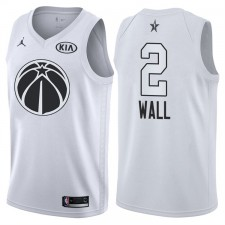 All-Star Men Wizards John Wall &2 maillot blanc