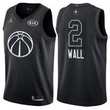 All-Star Hommes Wizards John Wall &2 maillot noir