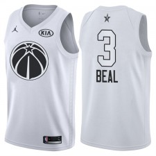 All-Star Hommes Wizards Bradley Beal &3 maillot blanc